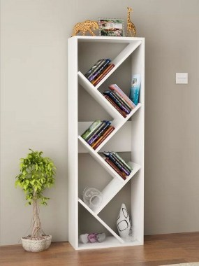 27 DIY Bookshelf Designs From Unused Goods 21