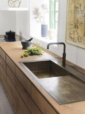 27 Modern Minimalist Kitchen Sink Ideas 19