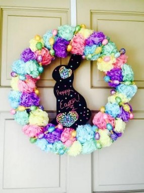 28 Cheery Spring Wreath Ideas To Beautify Your Front Door 28