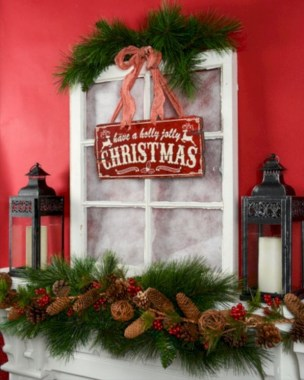 28 Cute Farmhouse Christmas Decoration Ideas 23