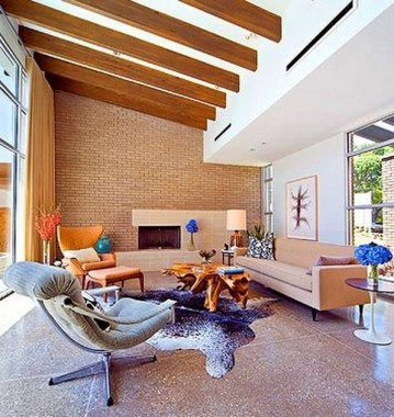 28 Sleek Mid Century Modern Living Rooms That Will Take You Back In Time 13