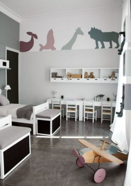 28 Unique Baby Boy Nursery Room With Animal Design 12