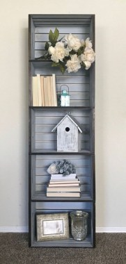 29 DIY Wood Crate Shelves Projects To Calm The Clutter Effectively 07