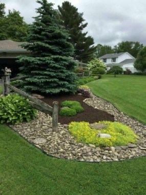 29 Simple Rock Garden Decor Ideas For Your Backyard 12
