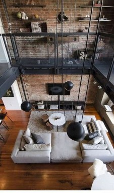 30 Amazing Interior Design Ideas For Modern Loft 22