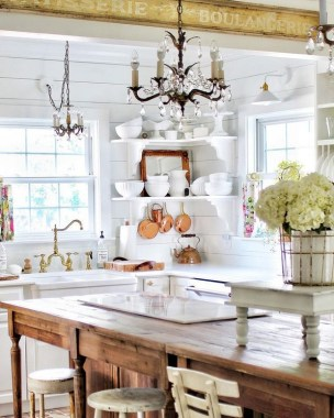 30 Best French Country Kitchen Design Ideas To Inspire You 07