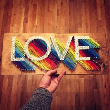 31 Creative DIY String Art Project Ideas To Inspire You 05