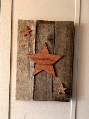 33 Creative And Easy DIY Pallet Wall Art Ideas To Try 09
