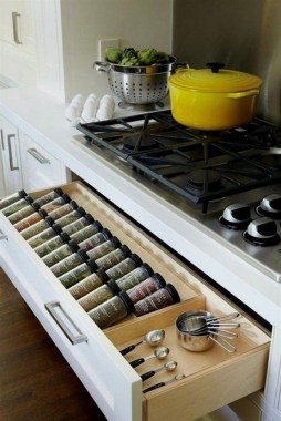 34 Creative Kitchen Organization Ideas Using IKEA Items 03