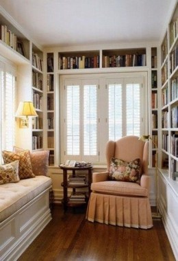 35 Cozy Nook Ideas To Sip On A Cup Of Tea And Read A Good Book 21