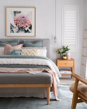 35 Creative Bedroom Decoration Ideas For A New Spring Looks 14