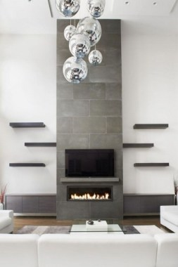 36 Beautiful Fireplace Decorating Ideas To Copy For Your Own 08