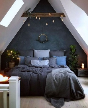 39 Cute And Stylish Loft Bedroom Design Ideas For Your Dorm 28