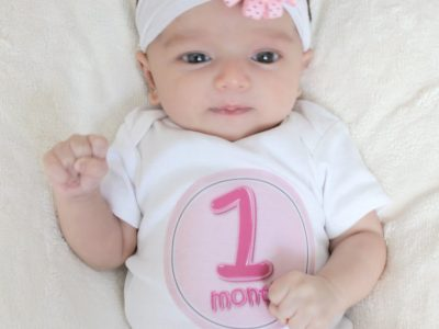 طفلك في الشهر الاول من العمر