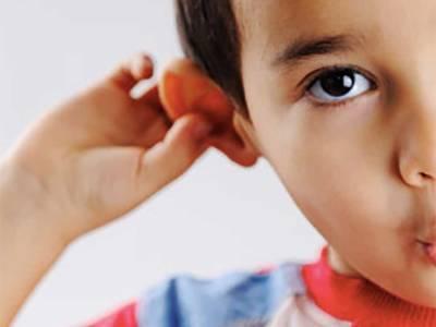 التهاب الاذن عند الاطفال