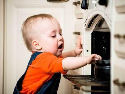 سلامة الأطفال في المنزل