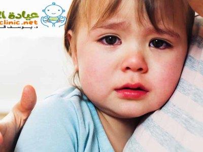 احتقان الانف عند الاطفال