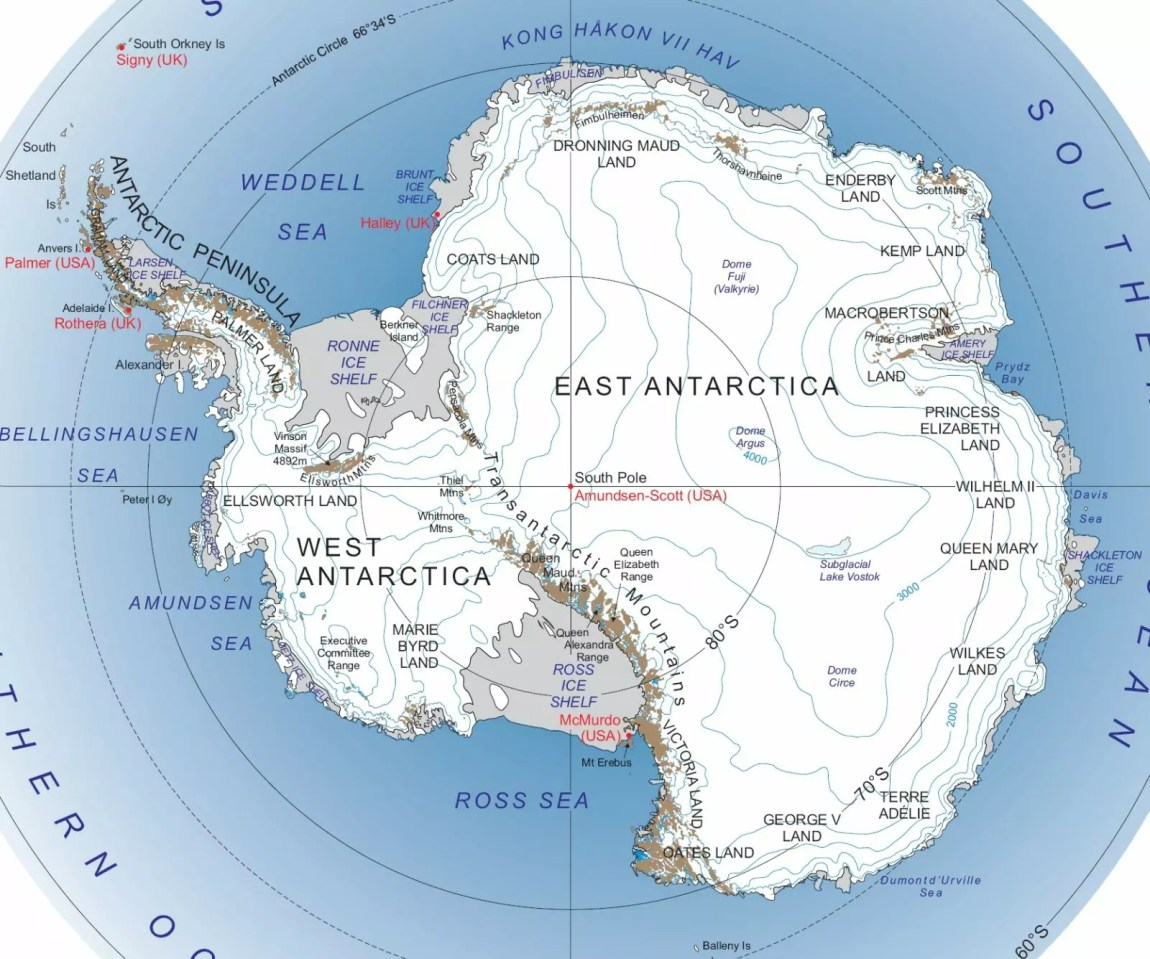 Antarctica Facts for Kids - Complete Information for School ...