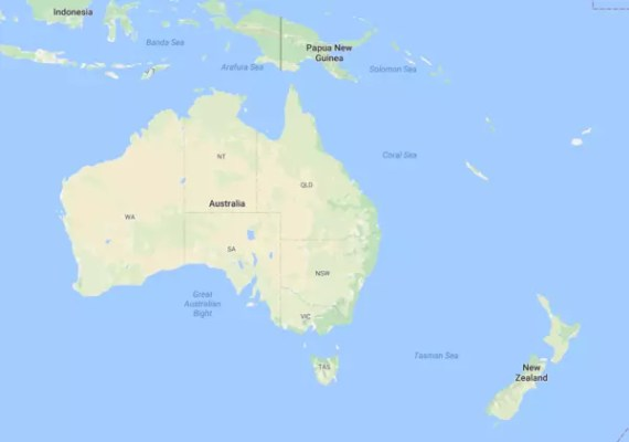 Map Of Australia Facts.Australia Facts For Kids Learn All About Australia Kidz Feed