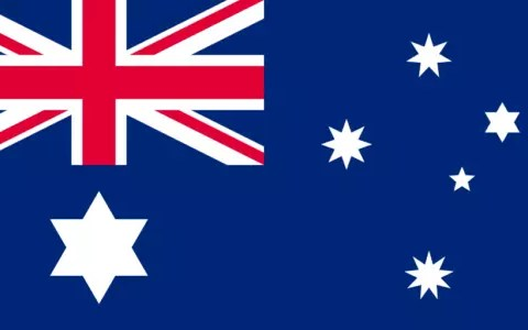 flag of australia - australia facts for kids