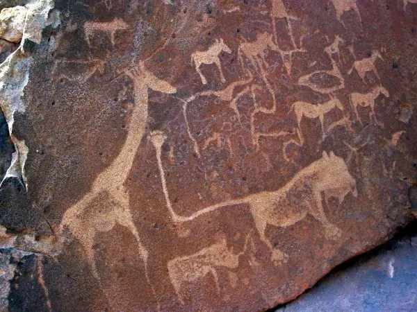 stone age cave paintings