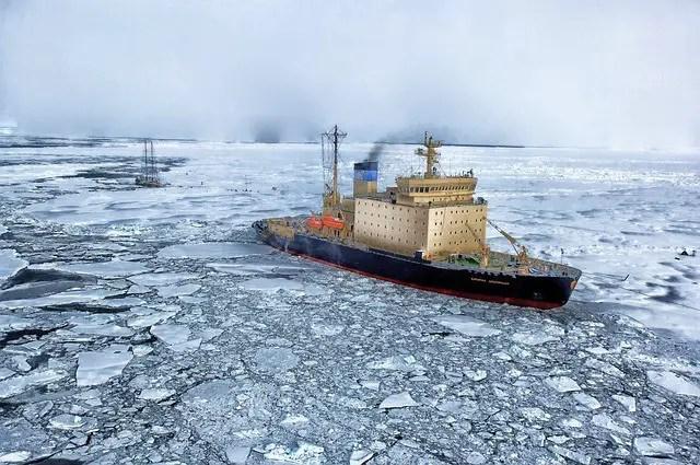 arctic ocean facts for kids