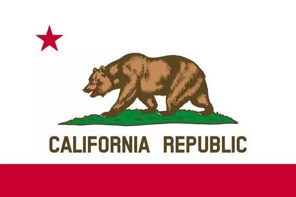 California Facts For Kids - Flag