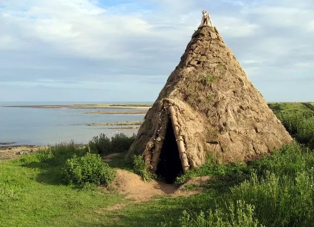 stone age house