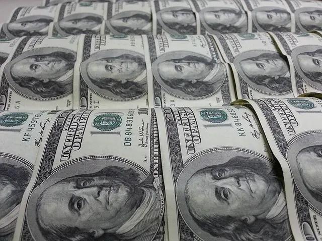 Currency Dollars Benjamin Franklin Money