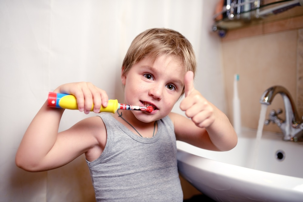 Elektrische tandenborstel kind