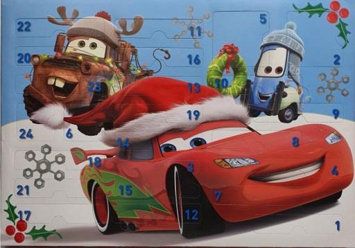 Disney Cars adventskalenders