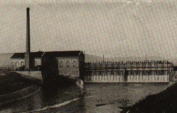 Wehranlage Kiebingen 1910