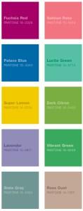 Pantone's colours