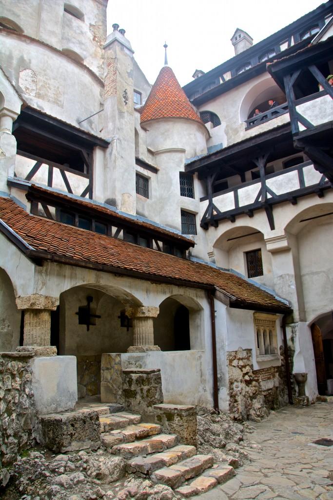 Zamek Drakuli w Rumunii Radosław Kasperski00013