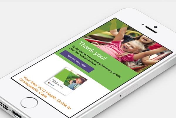 VCU Health – Orthopedics Campaign
