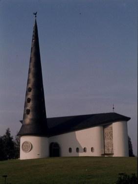 Thomaskirche Schulensee 1973