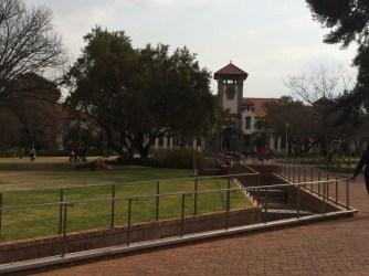 The university campus