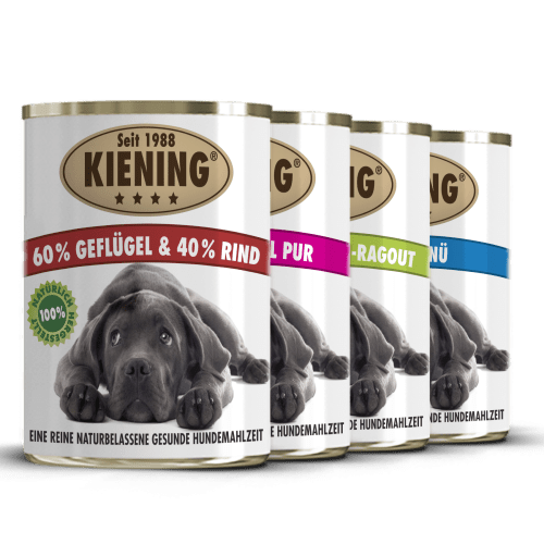 Kiening Hundefutter im Paket