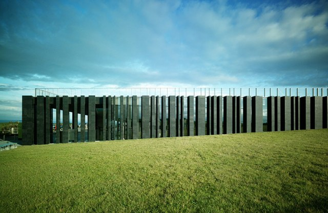 Giant's Causeway Visitors' Centre, Antrim, Northern Ireland, bởi Heneghan Peng