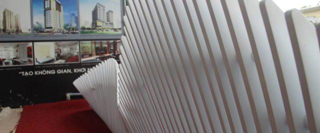 Ghế phòng chờ Parametric thiết kế bởi Công ty Kiến trúc VHL