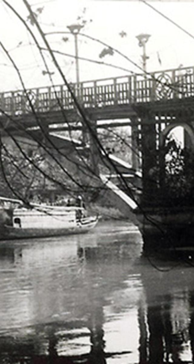 Cầu Thị Nghè năm 1927. Ảnh tư liệu.