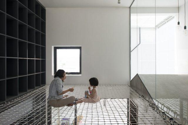 không gian đệm được đặt vào giữa các không gian riêng tư