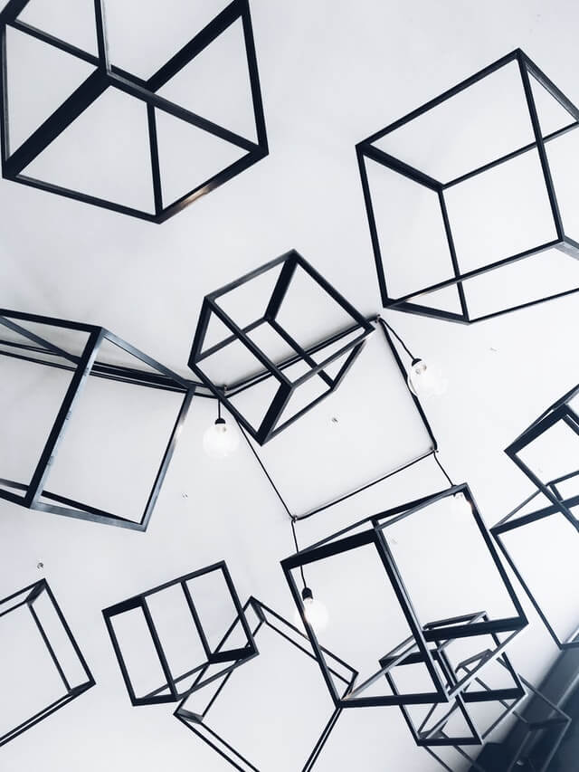 https://www.pexels.com/photo/gray-metal-cubes-decorative-1005644/