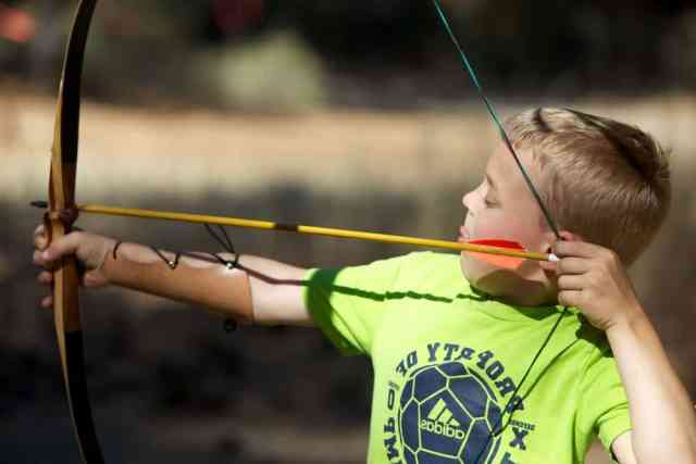 https://pixnio.com/sport/child-boy-bow-arrow#