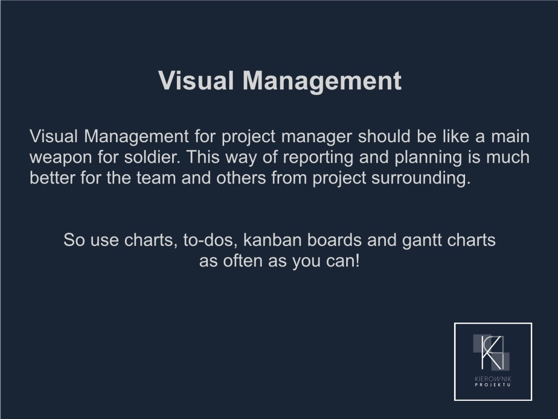 Wskazówka: Visual management