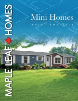 Mini Homes Brochure Cover