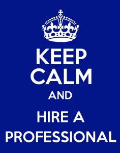Hire a Professional.