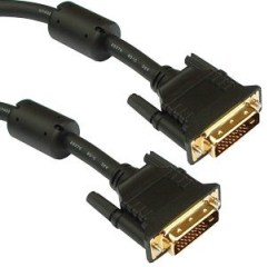 DVI-D Dual Link Cables, Male to Male
