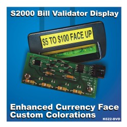 K622-BVD LED Replacement Bill Validator Board for IGT S2000 Slot Machines