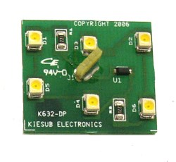 K632-DP LED Replacement Board for Denom Panel on IGT Slant Top